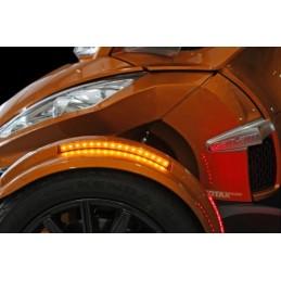 Feux LED latéral garde boue avant pour spyder